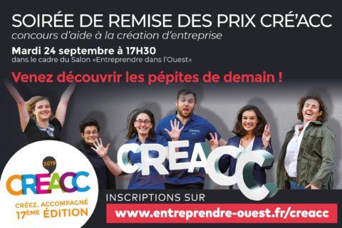 Remise des prix CRE'ACC 2019