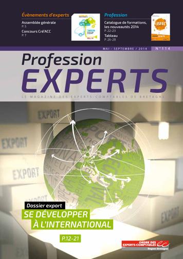 Profession experts 114 mai septembre 2014 ordres des - Liste des cabinets d expertise comptable au senegal ...