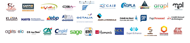 Logos des partenaires pour xing