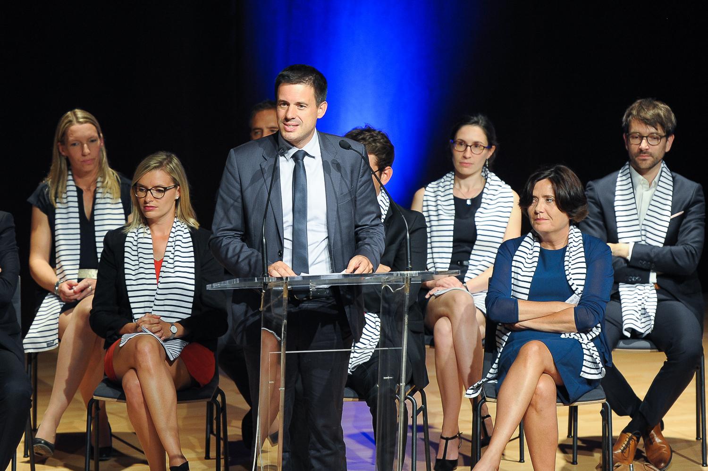 Sébastien CHAUFFAUT Parrain promotion 2017/2018 - Président du directoire Groupe Roullier.