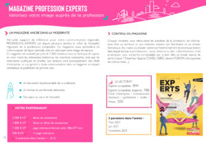 Soyez visible dans Profession Experts